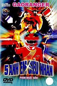 Xem Phim 5 Anh Em Siêu Nhân Gao - 5 Anh Em Sieu Nhan Gao (Trọn Bộ)