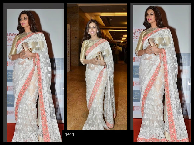 Bollywood Acteress Designer Saree