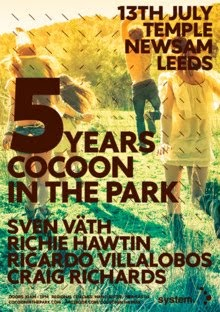 Cocoon in the Park 13th July 2013