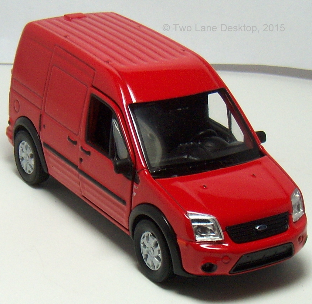 Two Lane Desktop: Welly 1:43 2010 Ford Transit Connect