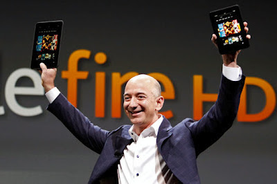 Jeff Bezos unveils 7 & 8.9-inch Kindle Fire HDs