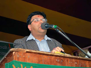 Roshan Giri, an executive GTA Sabha member