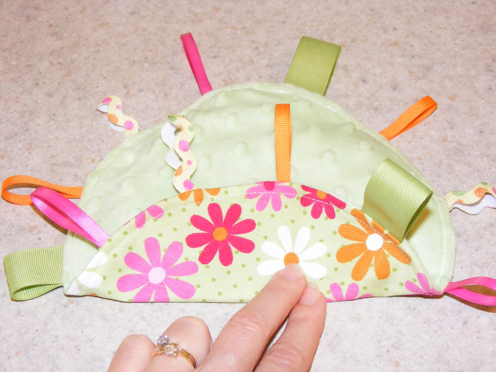 how to make crinkle toys for babies