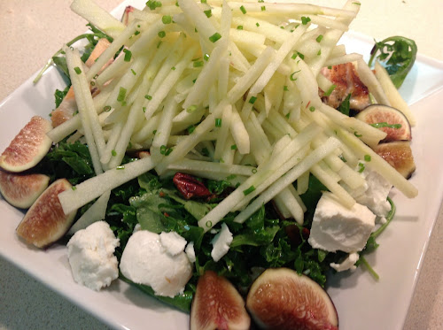 Cook In / Dine Out: Kale, Fig & Apple Salad