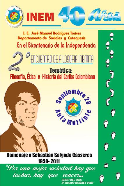 Filosofía en el Bicentenario de Colombia. Inem Cartagena