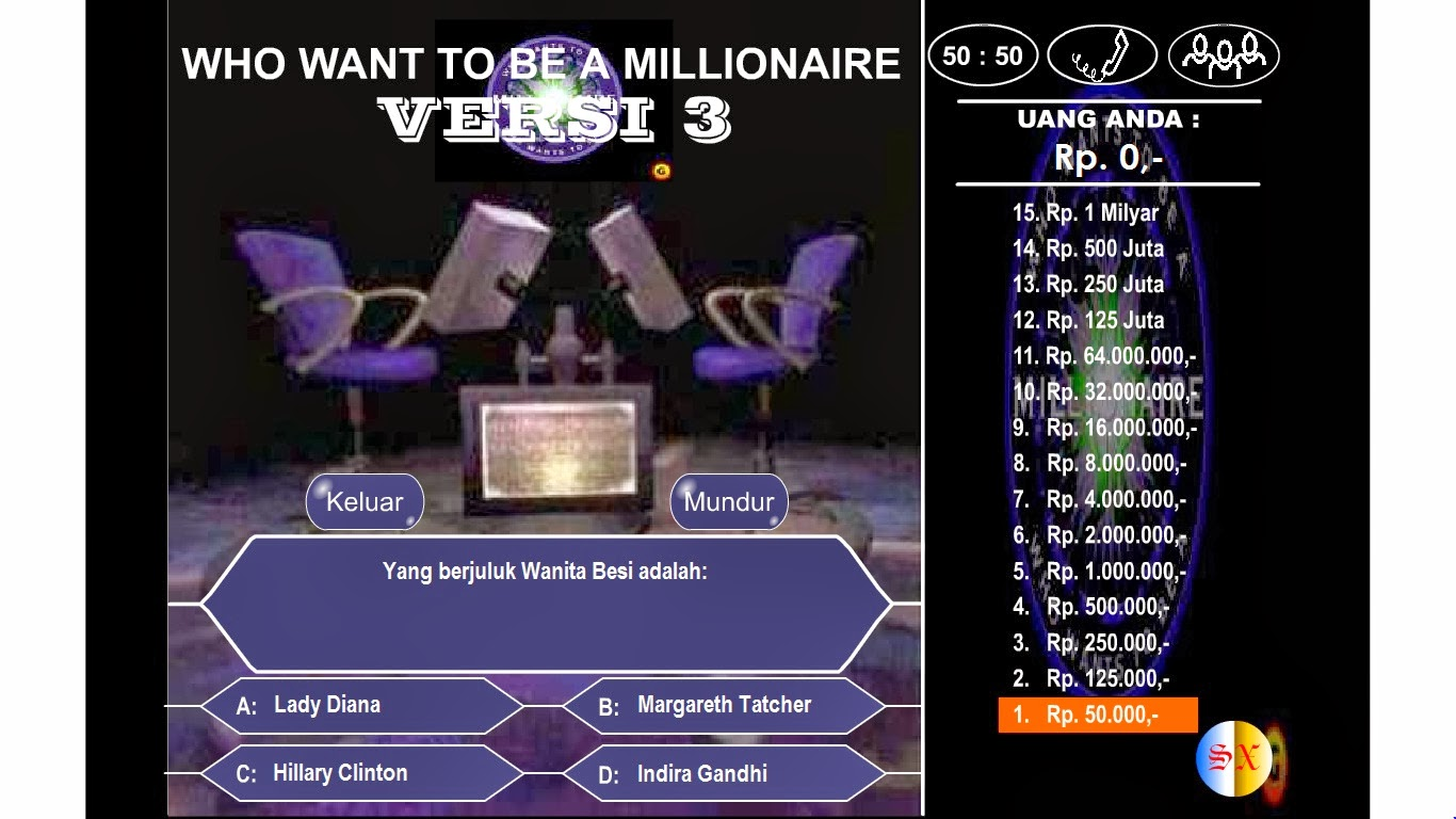 who wants to be a millionaire indonesia game download for pc free