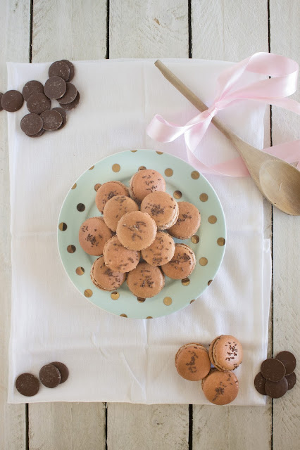 Chocolate Cheesecake Macarons Cassie Cakes