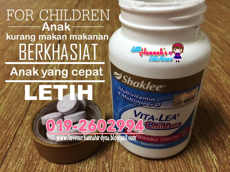 vitalea untuk kanak-kanak