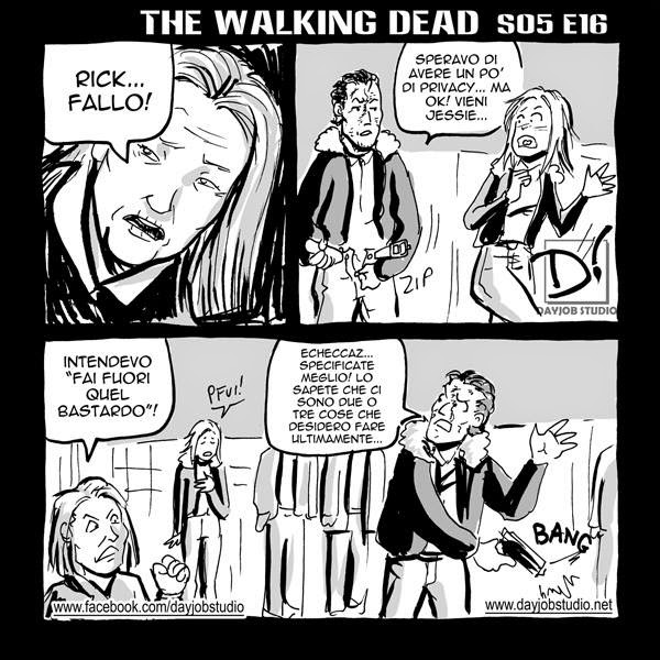 The Walking Dead 5x16 (Dayjob Studio)