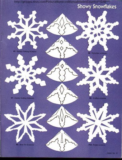 simple paper snowflake templates here are a few more template