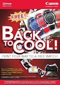 Canon Pixma Back to Cool Promo