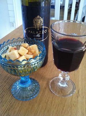 vin, Palazzo, fredag, ost, helg, mat