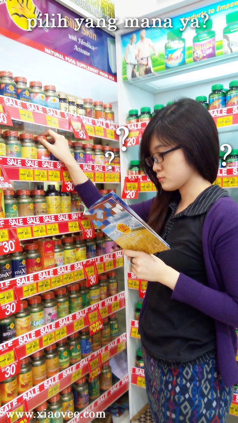 makanan kesehatan, suplemen makanan, suplemen Sea Quill, makanan sehat