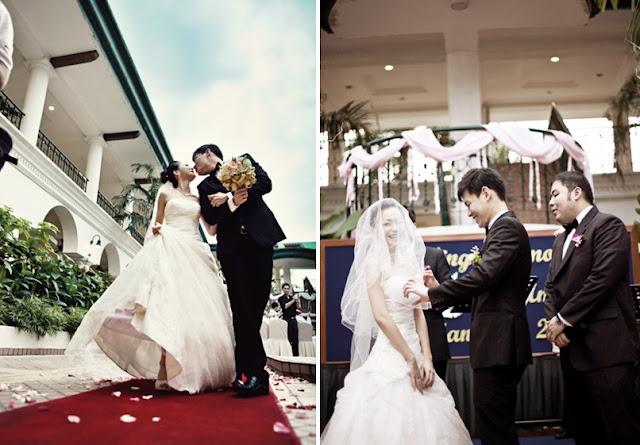 solemnization, opening bride veil