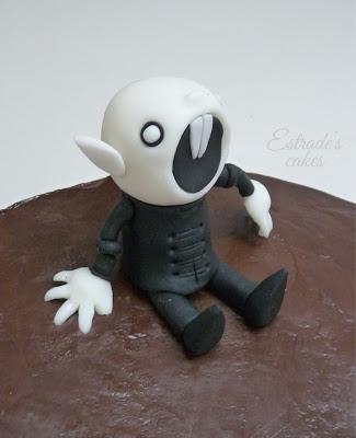 tarta de chocolate Nosferatu - 3
