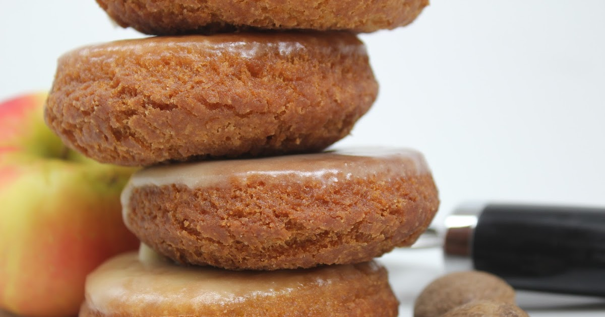 Thyme In Our Kitchen: Spiced Cider Donuts