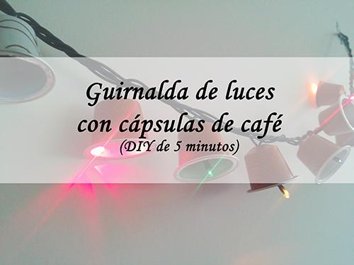 Guirnalda con cápsulas café