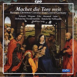 Christmas Baroque Cantatas (German) - Schelle, J. / Petritz, B. / Erlebach, P.H. / Jacobi, C.A. / Liebe, C. / Bessel, J.E.