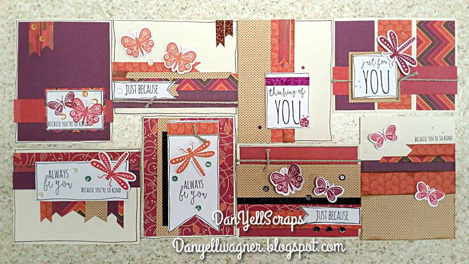 Sangria Card Kit