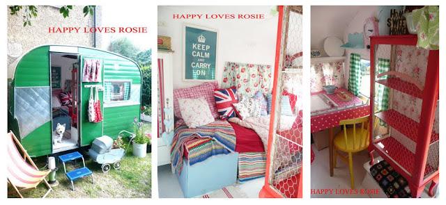 Jak nadać klimat przyczepie campingowej, jak udekorować, Pomysł na..., przyczepa campingowa, how to decorate a caravan, to arrange, vintage, retro