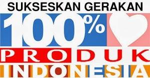 Gerakan 100% Produk Indonesia