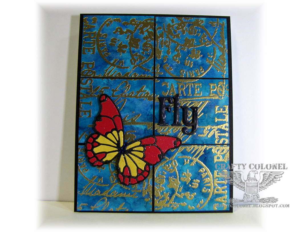 Crafty Colonel Donna Nuce, for House of Cards Challenge Blog
