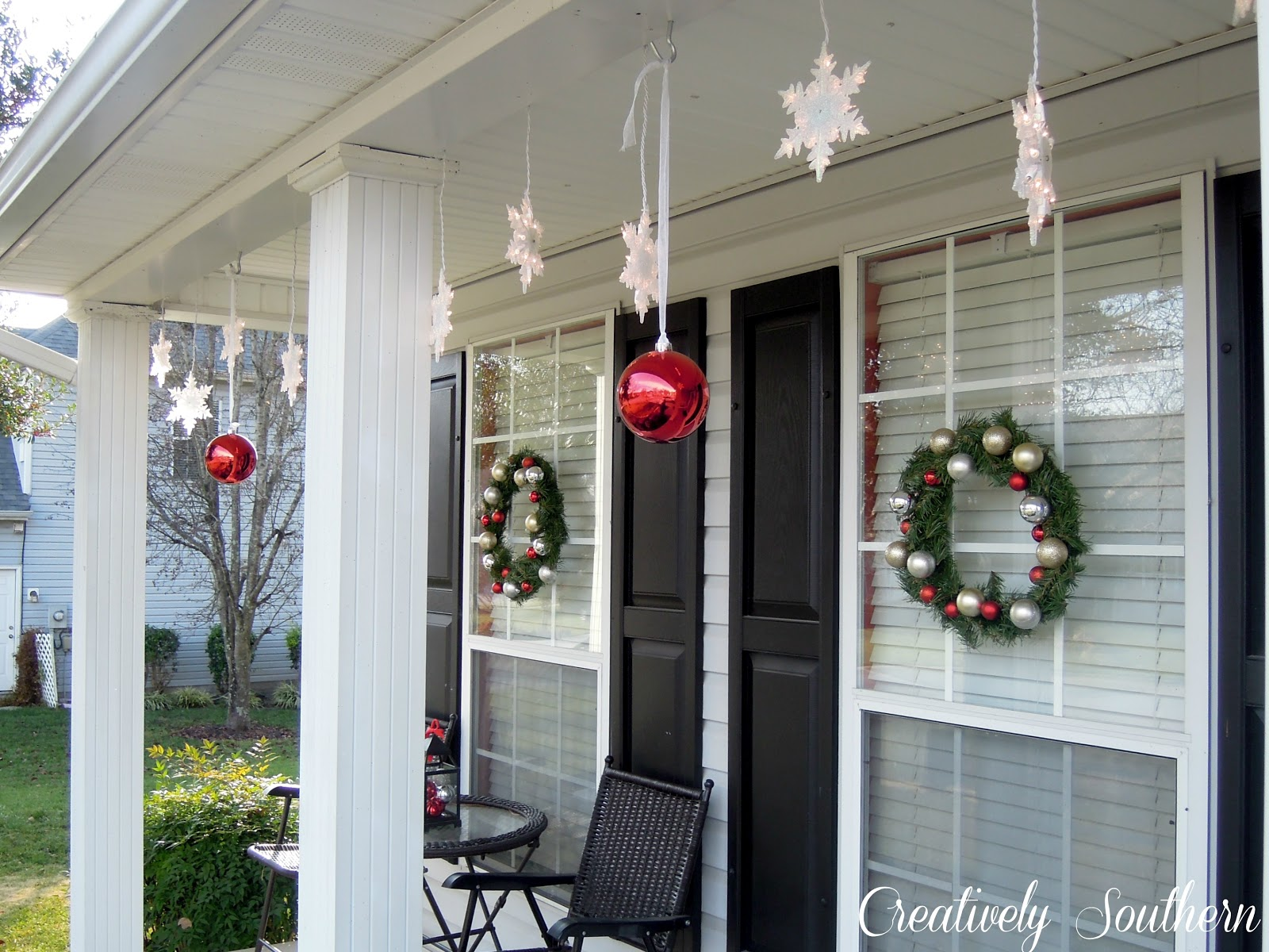 Holiday Porch Decorating Ideas Part - 31: Creatively Southern