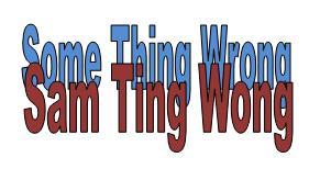 Contoh Pendek Spoof Text Bahasa Inggris + Terjemah: Sam Ting Wong