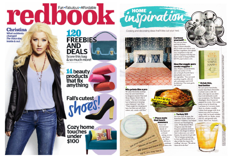 New Press: Redbook Magazine Nov 2013