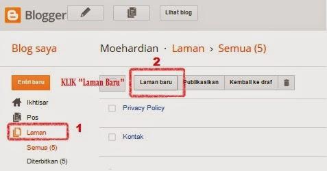 Cara Membuat Daftar Isi Blog Secara Otomatis
