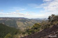 Vista de cima do Bauzinho (Pedra do Baú)