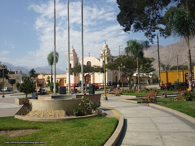 Plaza de Armas de Sayán