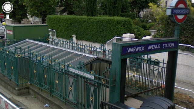 Warwick Avenue station on the Bakerloo line of the London Underground