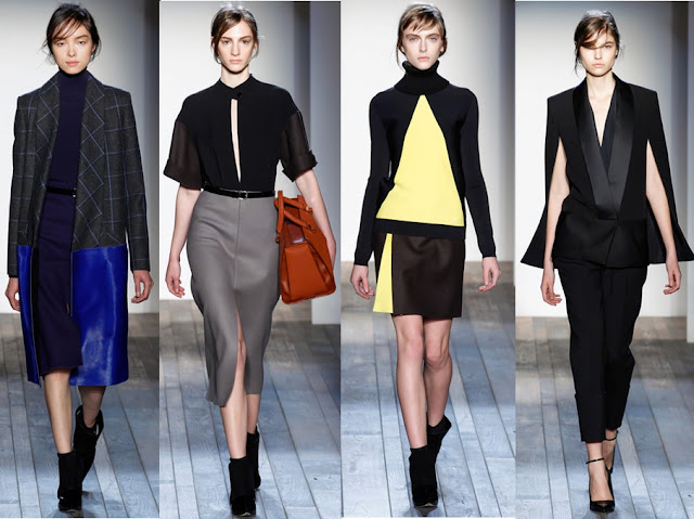 Victoria Beckham Fall 2013 Lengthy Sensuality