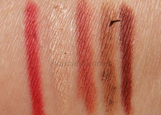 The Body Shop lipliner swatch