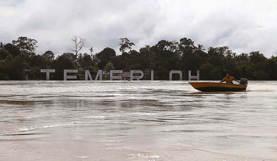 Severe Flood at Temerloh town