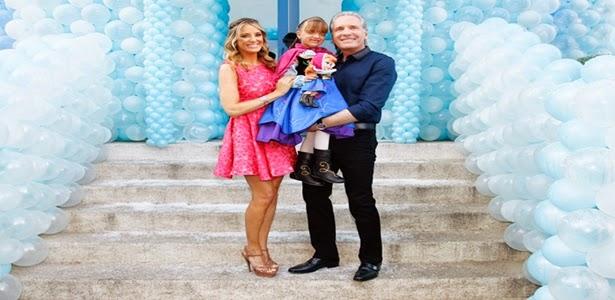 Ticiane Pinheiro declara seu amor pela filha