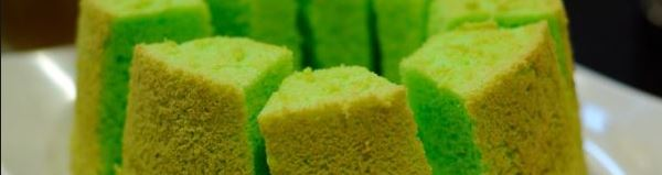Resep Membuat Kue Bolu Pandan Super Enak