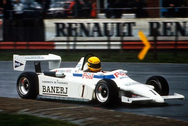 1983 Carro Ayrton Senna Fórmula 3 Inglesa West Surrey