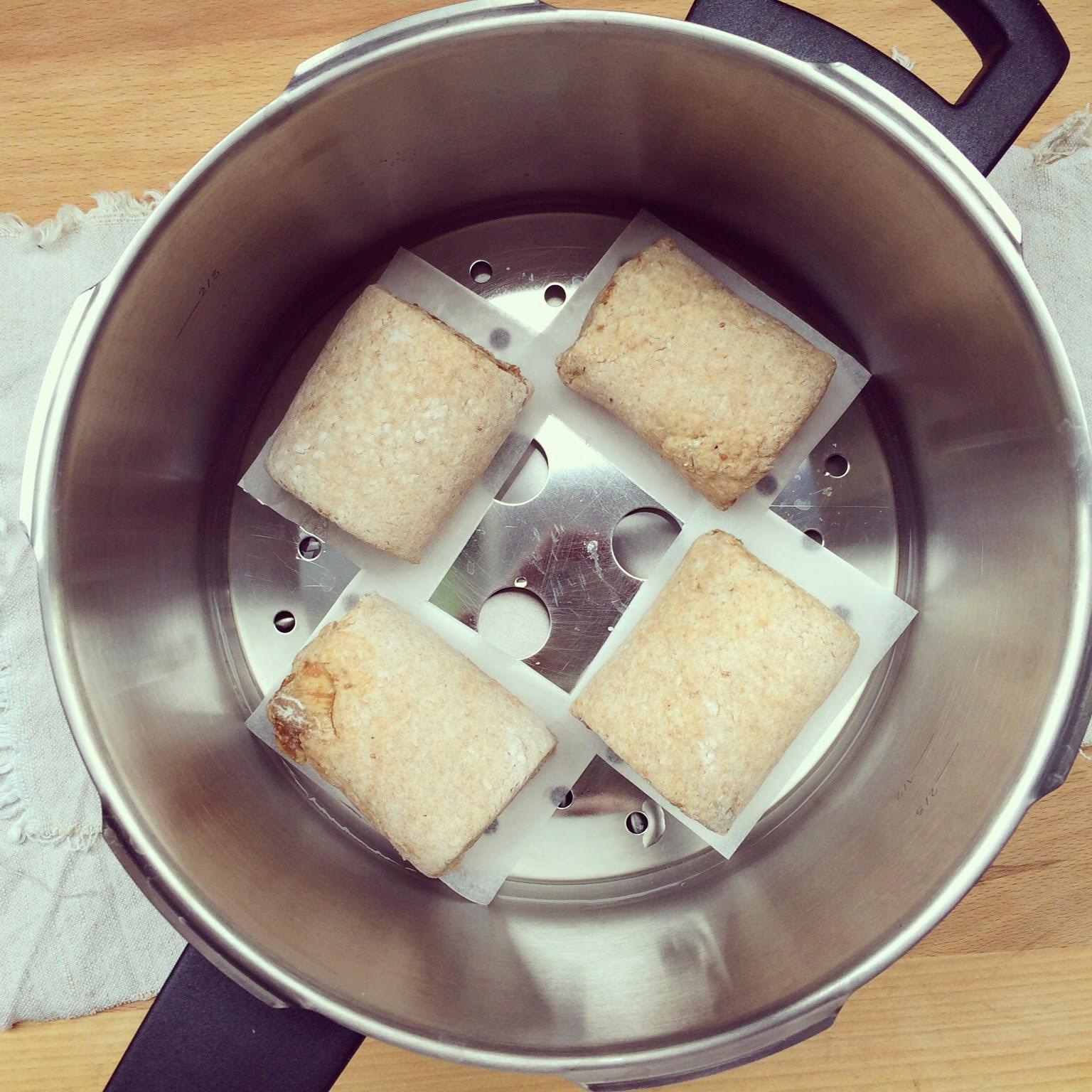 petits pains vapeur figues okara