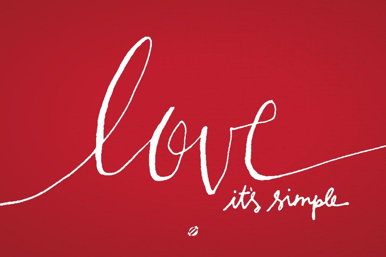 LostBumblebee ©2014 Love, it's simple FREE PRINTABLE