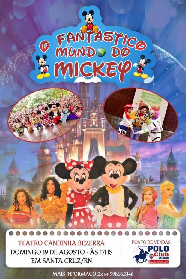 O FANTÁSTICO MUNDO DO MICKEY