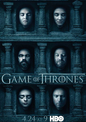 Baixar Game of Thrones Season 6 Poster 1 630x933 Game of Thrones S06E10 FINAL DA TEMPORADA HDTV XviD & RMVB Legendado ou Dublado Download