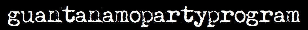 guantanamopartyprogram