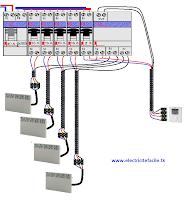 branchement du gestionnaire d 39 nergie par fil pilote schema electrique. Black Bedroom Furniture Sets. Home Design Ideas