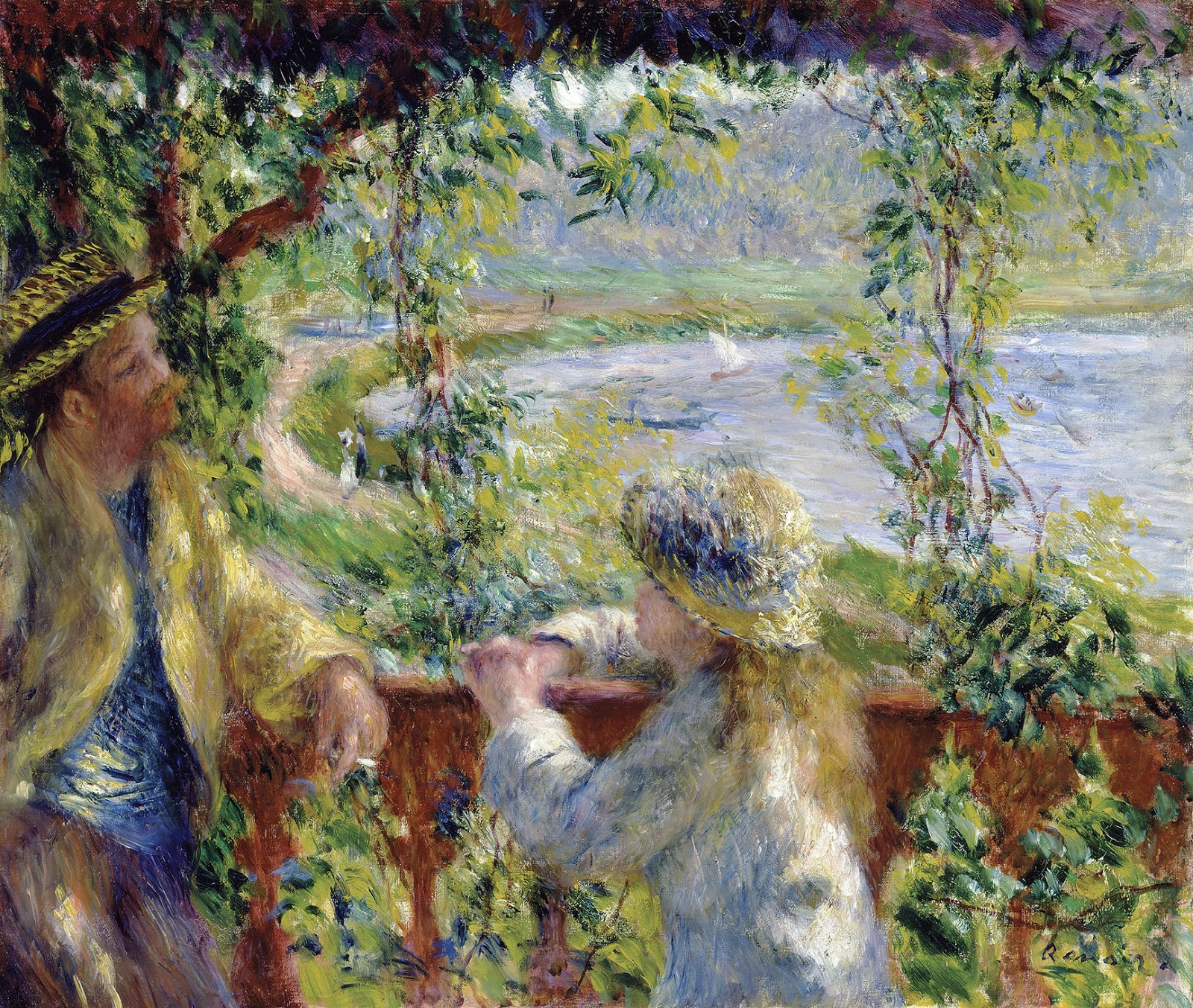 Intelliblog art sunday renoir for In their paintings the impressionists often focused on