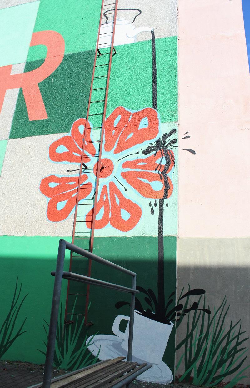 maalattu rakennus