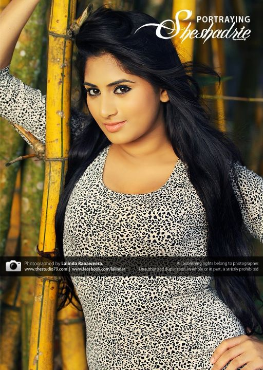 Sri Lankan Cute Actress Sheshadri Priyasad