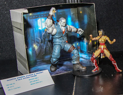 """DC Collectibles Injustice 3.75"""" Solomon Grundy & Wonder Woman 2-Pack"""