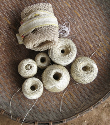 Photo: Kheupiad vine yarn
